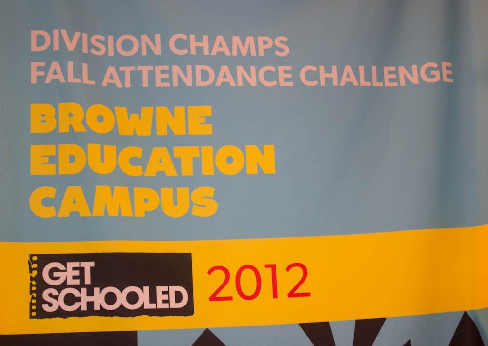Browne's Championship Banner!